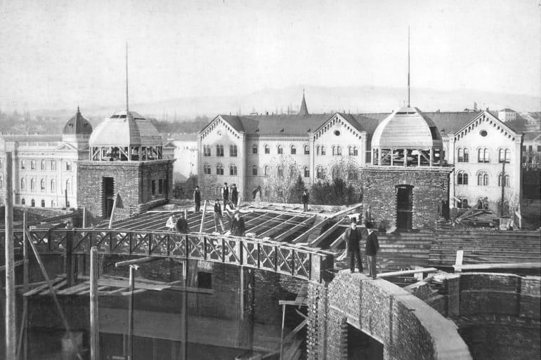 Hnk Povijest Zgrade