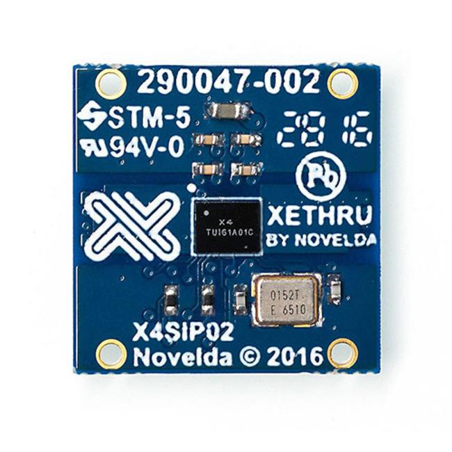 X4SIP02 Radar Sub-system - Single-chip radar sensor with sub-mm