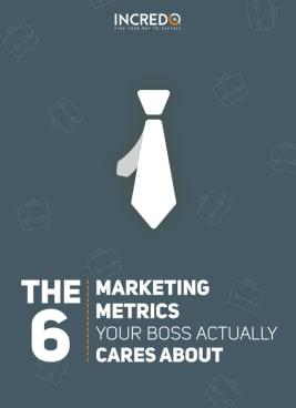 Incredo marketing metrics eBook