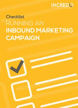 Incredo inbound marketing campaign checklist