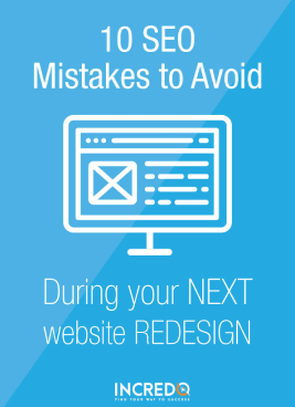 """Incredo """"SEO Mistakes to Avoid"""" guide"""