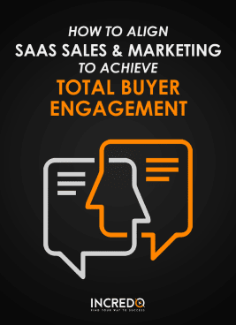 Incredo SaaS sales and marketing alignment ebook