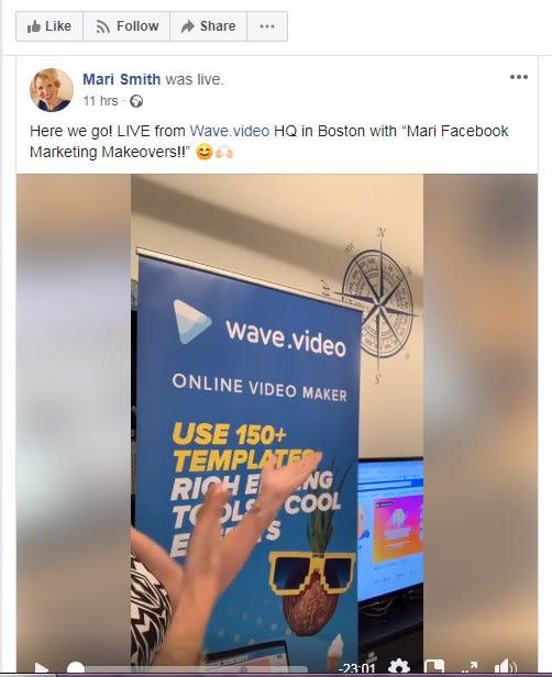 mari smith facebook live