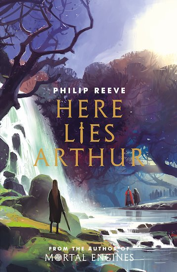 philip reeve here lies arthur book cover