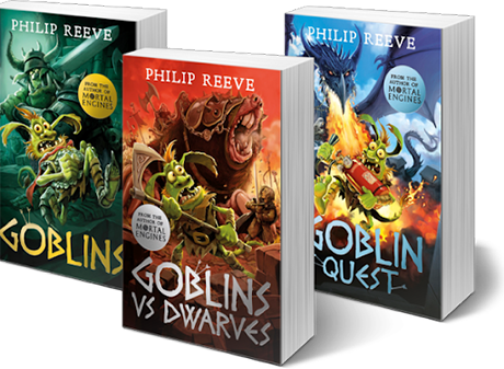 philip reeve goblins books trilogy