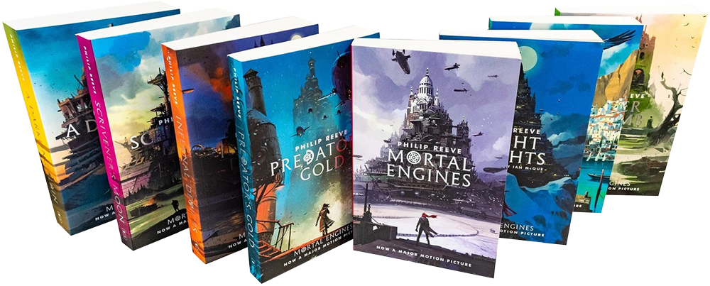 philip reeve mortal engines book collection series full set