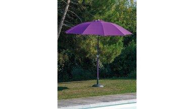 Parasol fibre de verre 270 cm Cassis - LOOK