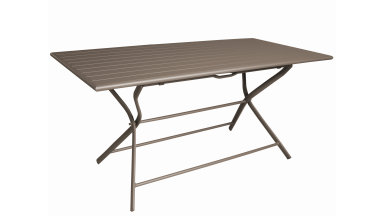Table pliante 160 x 78 cm Café - GLOBE