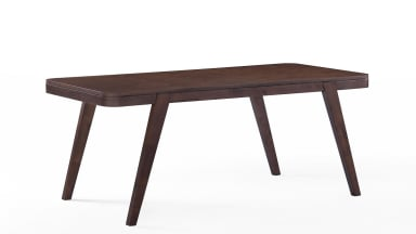 Table en bois 180 cm Noyer foncé - FREDO