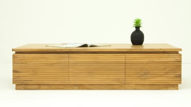 Table basse design en Teck massif - GARISS