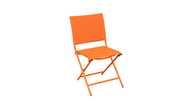 Chaise pliante Orange - GLOBE