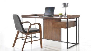 Bureau design bois et métal - NATIS