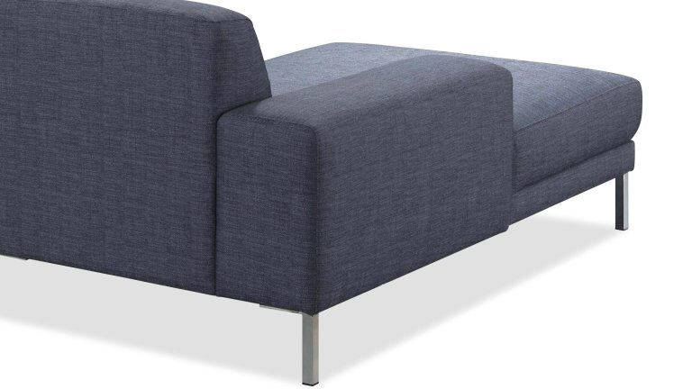 Canapé en angle en tissu 2m5 - MOOVE GRIS CHABLIS