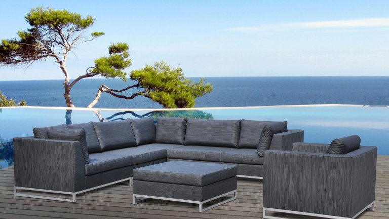 salon de jardin haut de gamme ibiza. Black Bedroom Furniture Sets. Home Design Ideas