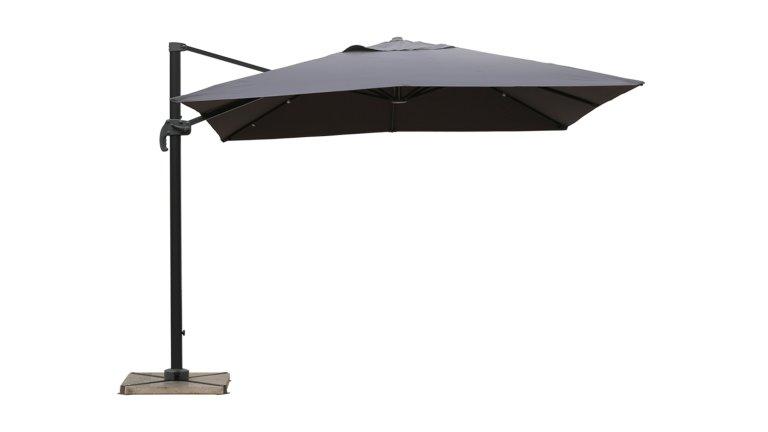 parasol d port 2 5 x 2 5 m sable upf 50 sol. Black Bedroom Furniture Sets. Home Design Ideas