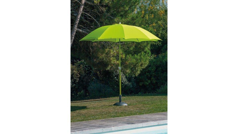 Parasol fibre de verre 270 cm Anis - LOOK