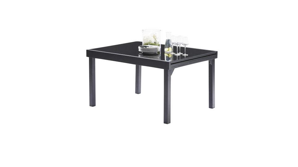 Table extensible 135/270 Noire - MODULO - Delorm Design