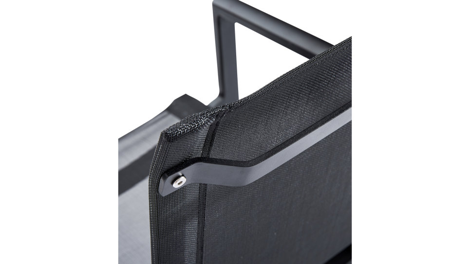Table 280 x 100 + 8 fauteuils Aluminium - IBIZA