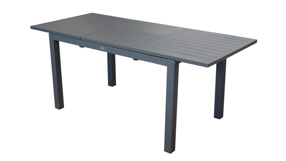 Table Extensible 130/180 x 80 cm Grise - TRIESTE