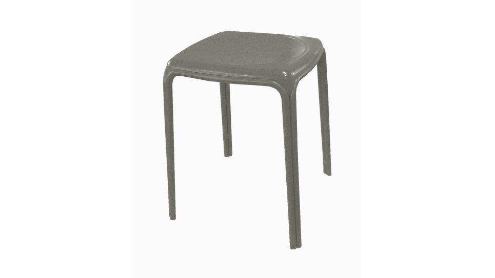 Tabouret Industriel Taupe - AZURO