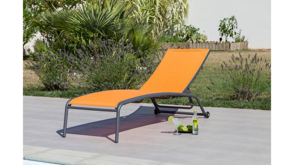 Bain de soleil Gris/Orange - GLOBE