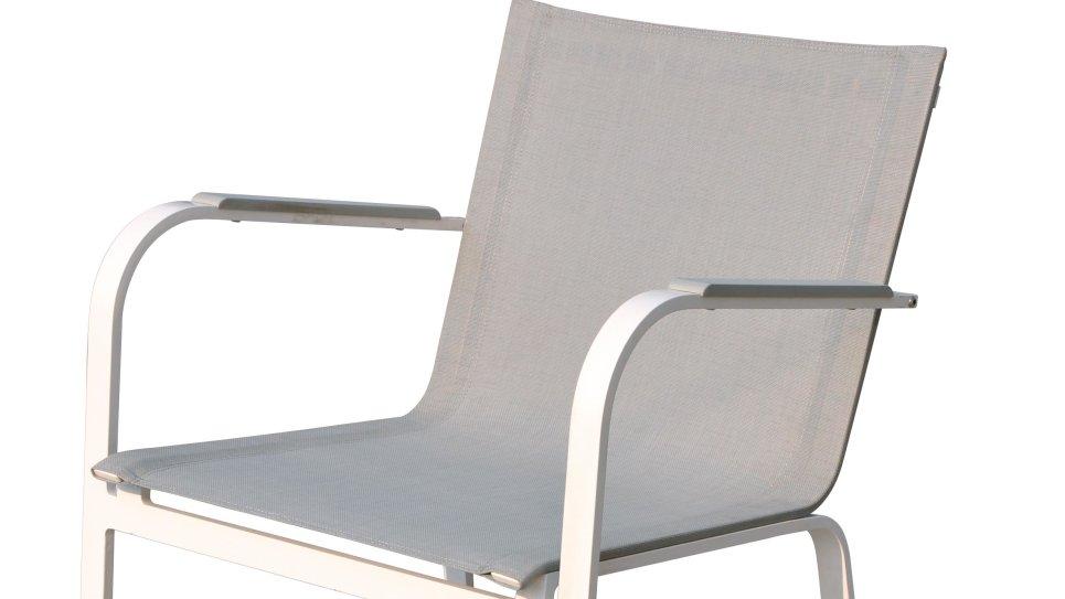 Table et chaise de jardin en aluminium 8 places - SYDNEY