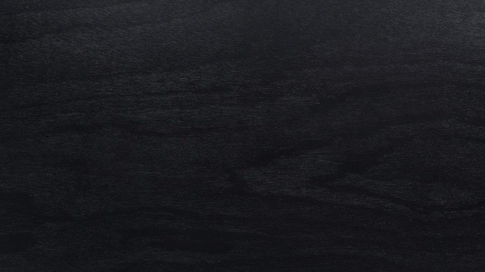 Table en bois 180 cm Noir - FELICIO