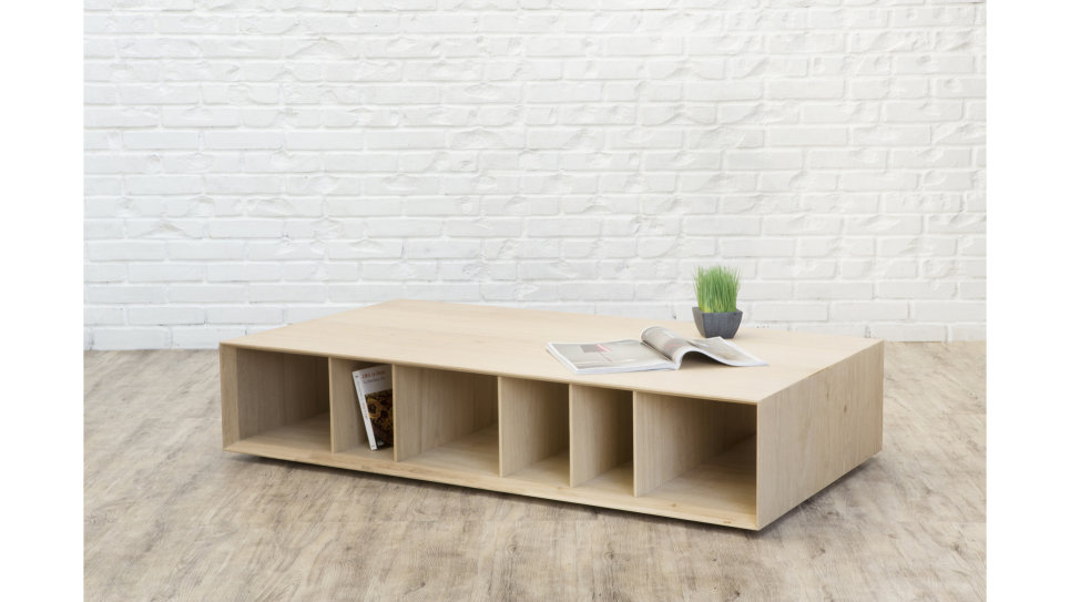 EPURE TABLE BASSE - Table basse en chêne massif