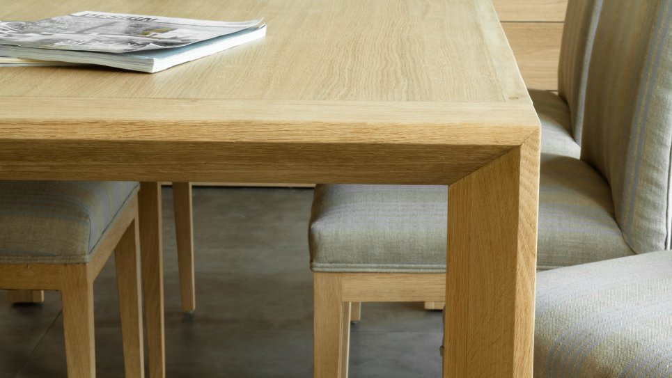 KUBICO TABLE 200 - Table en chêne massif