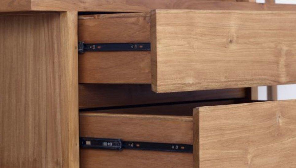 Meuble étagère bibliothèque en teck massif - Arch