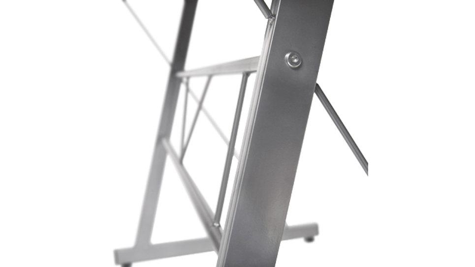 Bureau d'angle design en verre noir - Cérès