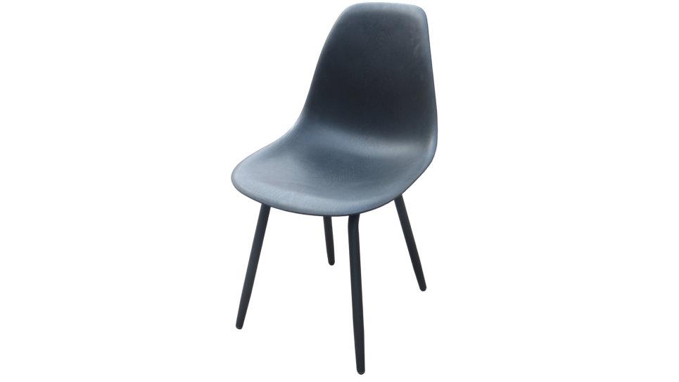 Lot de 4 Chaises design Noire - MOSS