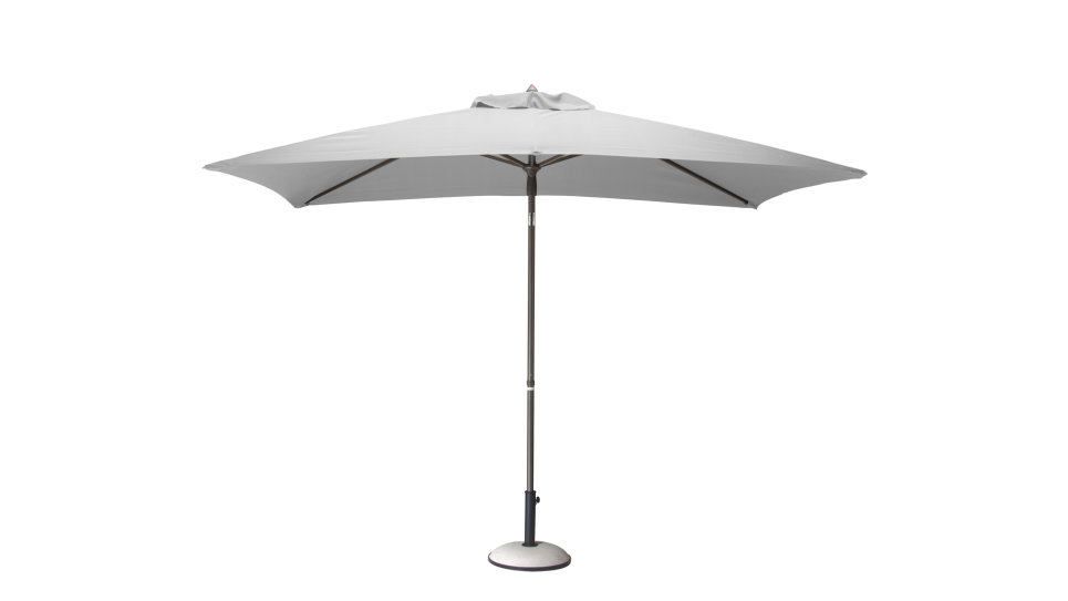 Parasol 300 x 200 cm Blanc - MANI