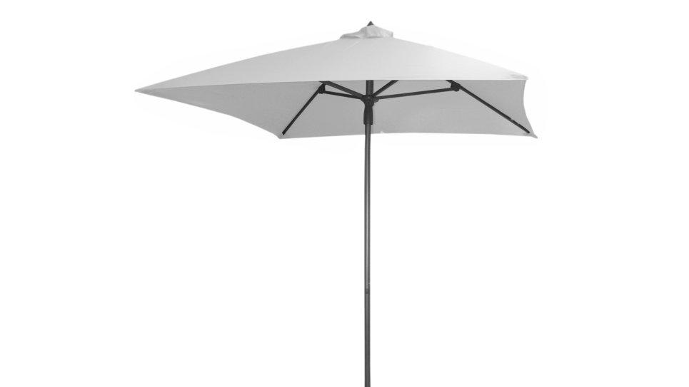 Parasol 200 x 200 cm Blanc - MANI