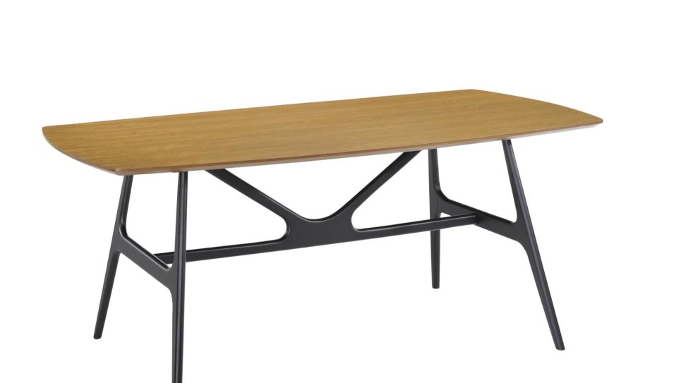 Table contemporaine 180 cm Chêne - YOKA