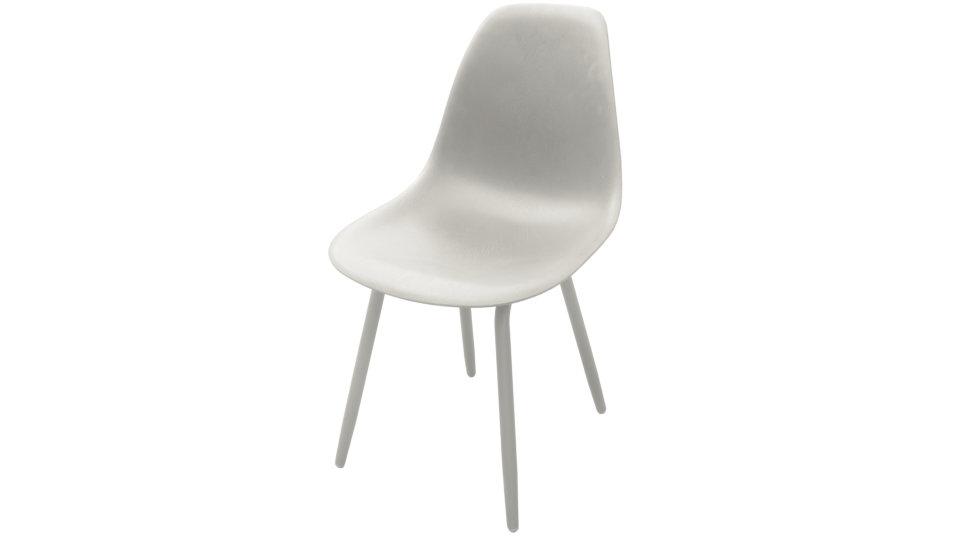 Lot de 4 Chaises design Blanche - MOSS