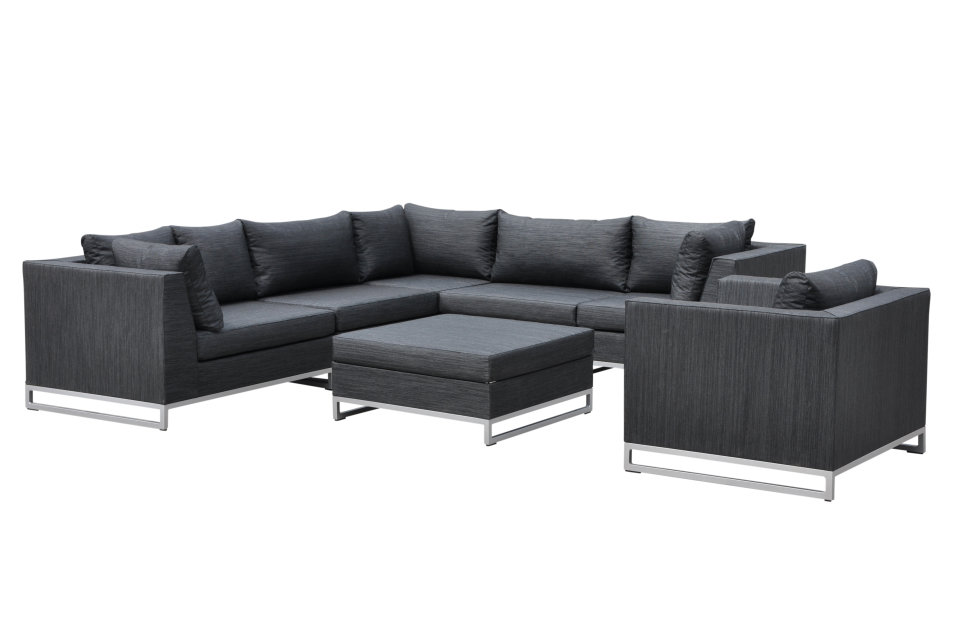 salon de jardin haut de gamme ibiza. Black Bedroom Furniture Sets. Home Design Ideas