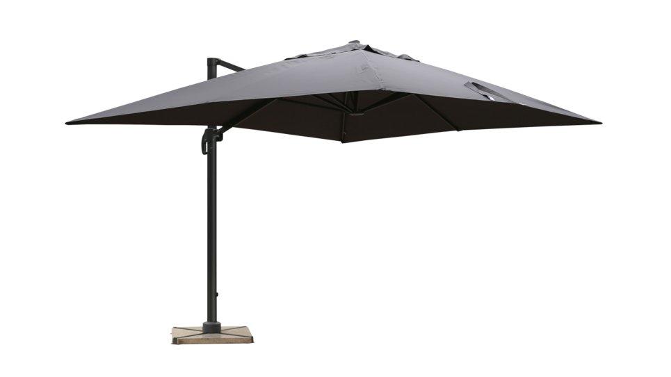 parasol d port 3x4 gris upf 50 rana. Black Bedroom Furniture Sets. Home Design Ideas