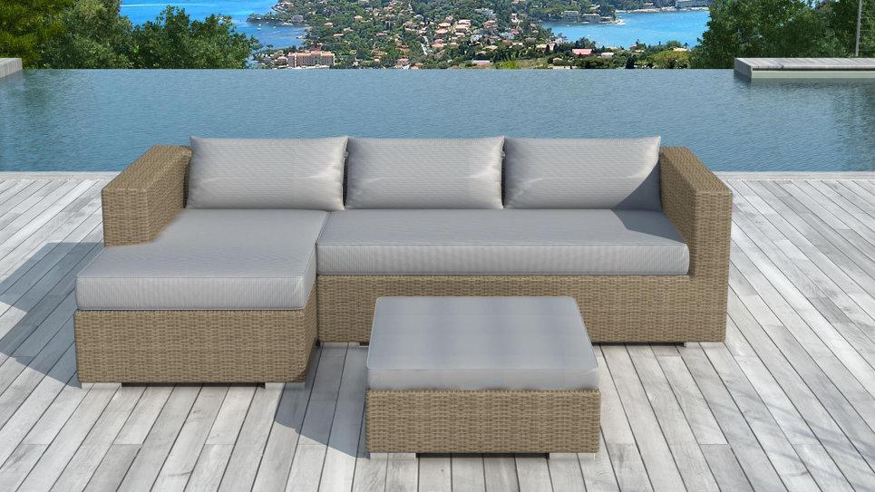 r sine tress e ronde salon de jardin kino 5 places. Black Bedroom Furniture Sets. Home Design Ideas