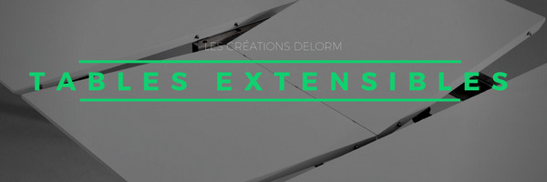 Tables extensibles par Delorm