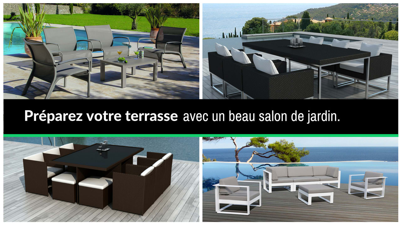 delorm design salon de jardin meuble design en stock. Black Bedroom Furniture Sets. Home Design Ideas
