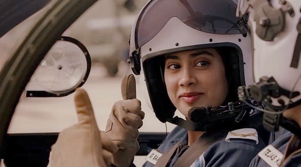 Gunjan Saxena The Kargil Girl Review An Extremely Likable Film That Even Gets The Cliches Right Woodward Journal