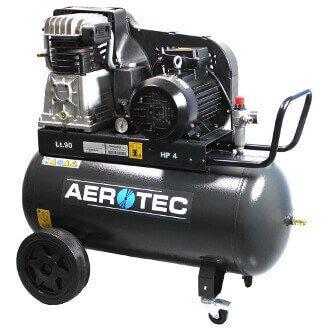 7,5 kW 10 bar 500 l Kessel 400 Volt /ölgeschmierter Kolben-Kompressor AEROTEC/® Druckluft-Kompressor 10 PS