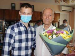 99-ый день рождения отпраздновал сегодня почетный житель ЕАО Лазарь Брусиловский
