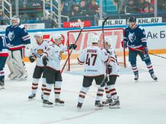 Прямого конкурента за выход в плей-офф обыграли в гостях хоккеисты ХК «Амур» из Хабаровска