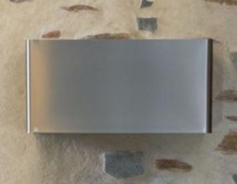 Röros fläkt 1423 Titan 60 vägg h57,6 u kanal ljusgrå N,R