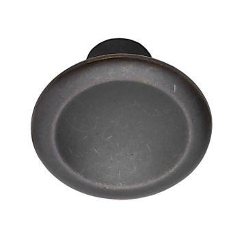 Bell knopp antikbrun