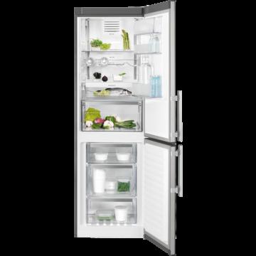 Electrolux EN3390MOX fristående kyl/frys 60cm