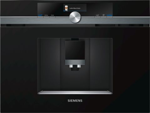 Siemens CT836LEB6 Helautomatisk espresso/kaffemaskin