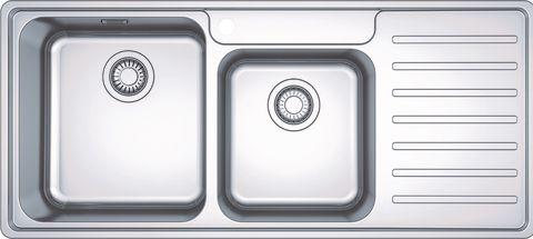 Franke Bell BCX 221 Vä, Underlimmad i laminat/corestone/kompaktlaminat